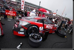 #1 MOTUL AUTECH Nissan GT-R NISMO GT500 of Ronnie Quintarelli and Tsugio Matsuda wins the 2015 GT500 Super GT Championship and #10 GAINER TANAX Nissan GT-R NISMO GT3 of Andre Couto and Katsumasa Chiyo wins 2015 GT300 Super  (4653089)