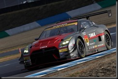 #1 MOTUL AUTECH Nissan GT-R NISMO GT500 of Ronnie Quintarelli and Tsugio Matsuda wins the 2015 GT500 Super GT Championship and #10 GAINER TANAX Nissan GT-R NISMO GT3 of Andre Couto and Katsumasa Chiyo wins 2015 GT300 Super  (4653091)