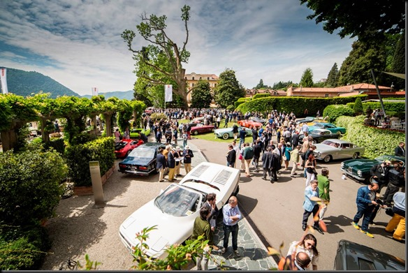 2016 BMW Group Classic and the Villa d'Este luxury hotel gaycarboys