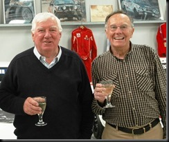 Six-times Southern Cross International Rally winner Andrew Cowan with 1970 Australian Rally Champion Bob Watson gaycarboys