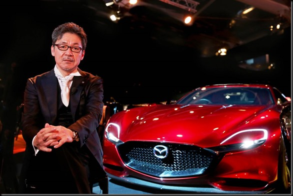 (Executive Officer and Gen. Manager Design Div. at Mazda Motor Corporatio Mazda RX-VISION named most beautiful concept GayCarBoys (1)