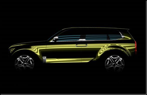 Kia all-new SUV concept at NAIAS gaycarboys