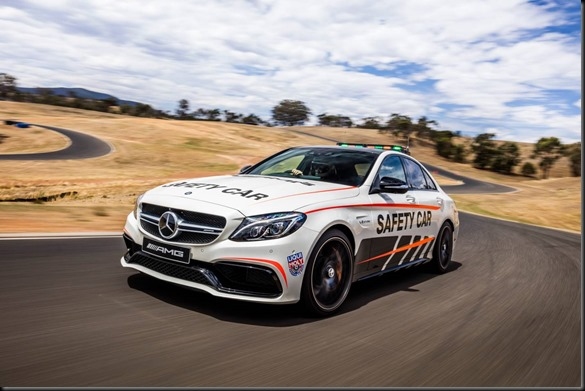 Mercedes-AMG C 63 S Sedan - Official Safety Car for 2016 Liqui-Moly Bathurst 12 Hour
