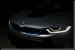 The BMW i8 is the first production vehicle to feature the innovative light technology.  gaycarboys (1)