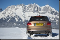 Bentley Bentayga makes Alpine debut in Kitzbühel