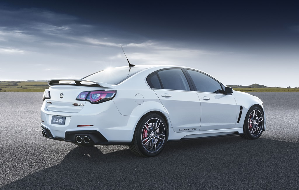 The HSV R8 Clubsport is the last in a long line of V8 Australian made muscle cars 1