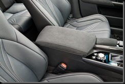 2016 Lexus GS F semi-aniline leather-accented seat trim interior