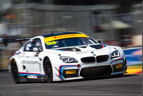 2016 Australian GT Championship Round 1. Clipsal 500, Adelaide, South Australia, Australia. Thursday 3rd March - Sunday 6th March 2016. Steven Richards driver of the #100 BMW team SRM BMW M6 GT3. World Copyright: BMW  Ref: Digital Image 020316_CLIPSAL500_DKIMG_2400.NEF