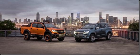 Chevrolet Colorado Xtreme and Trailblazer Premier_s