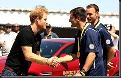 Prince Harry takes part in the Jaguar Land Rover Driving Challenge and awards France the first gold medal at Invictus Games Orlando 2016-France gaycarboys