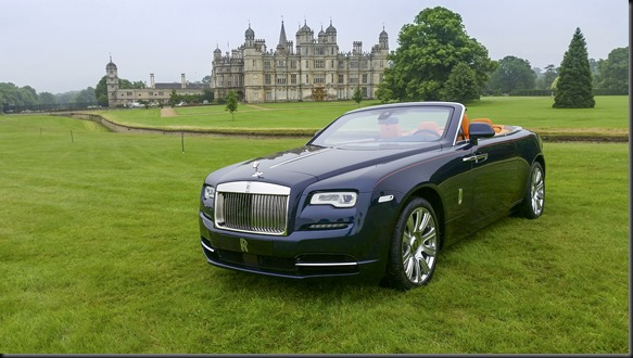 gaycarboys ROLLS-ROYCE DAWN AT THE 57TH ROLLS-ROYCE ENTHUSIASTS' CLUB ANNUAL CONCOURS AND RALLY, BURGHLEY HOUSE, SAMFORD, LINCOLNSHIRE