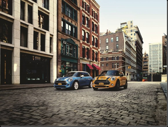MINI Cooper and MINI Cooper S gaycarboys