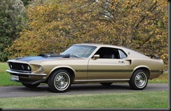 1969 Ford Mustang Mach 1 Fastback gaycarboys