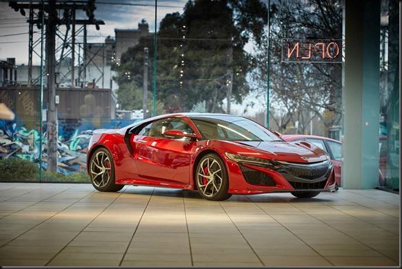 Honda NSX Hybrid Supercar Lands in Melbourne GayCarBoys (2)