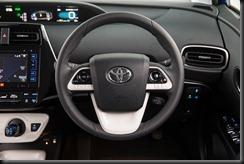 2016 Toyota Prius i-Tech steering wheel