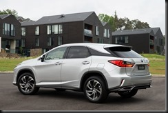 2015 Lexus RX 450h Sports Luxury