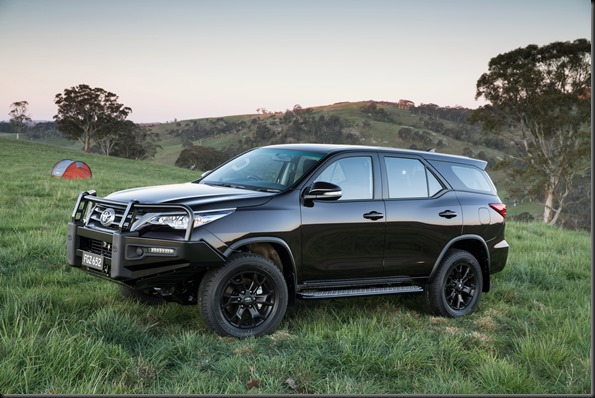 2015 Toyota Fortuner GX with Toyota Genuine accessories