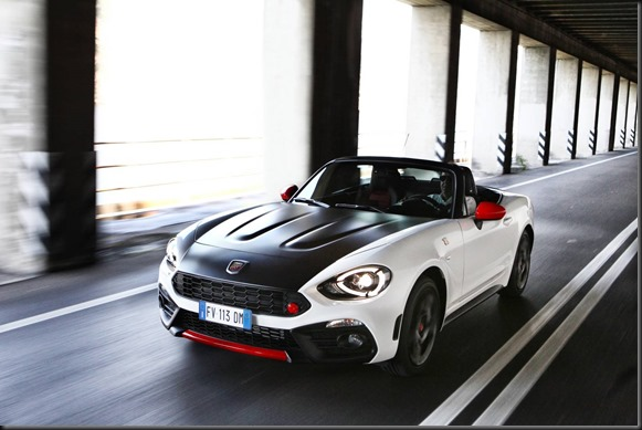 Abarth 124 Spider gaycarboys