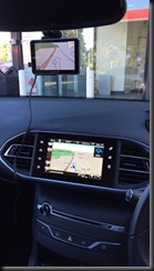 testing the navman Satnav dashcamcombo