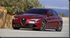 "Alfa-Romeo Giulia-Quadrifoglio - ""EuroCarBody 2016"" Award 2"
