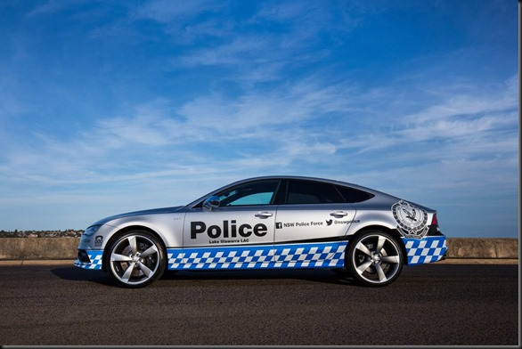 Audi S7 Sportback commences duty for the NSW Police Force (1)