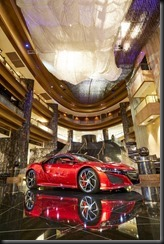 Honda NSX at Crown Towers Atrium gaycarboys (1)