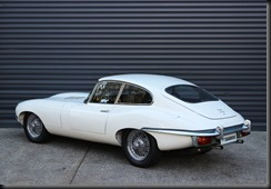 late-series Jaguar E-Type 4.2 Series 2 Coupe