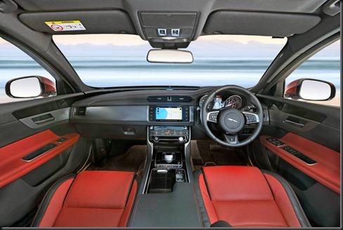 New Jaguar XF 2016 R-Sport 25t - Italian Racing Red (5)