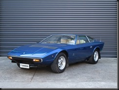 rare right hand drive substantially-original V8-engined Maserati Khamsin