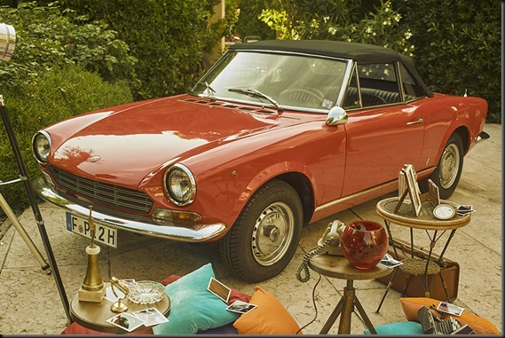 Abarth 124 Spider historical images (7)
