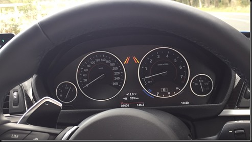 BMW 430i GranCoupe getting colder (1)