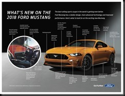 2018 Ford Mustang Fact Sheet