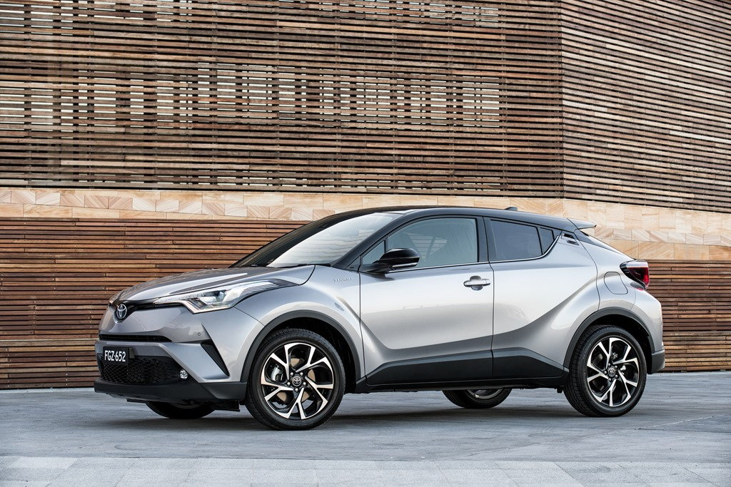 Toyota C-HR Coupe-High Rider: A Sexy-Sinner, or an In-the-Binner