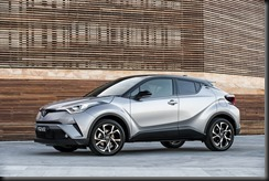 2017 Toyota C-HR Koba with optional black roof