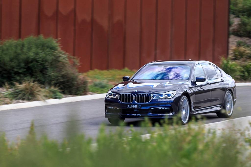 The new BMW ALPINA B7 Bi-Turbo Sedan arrives in Australia as the flagship of therange