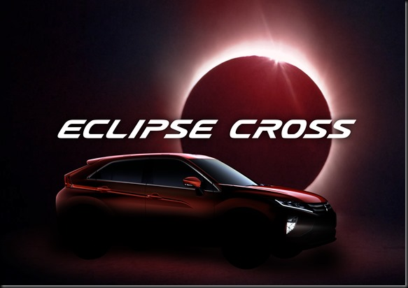 Mitsubishi Motors Names New Compact SUV: Eclipse Cross.