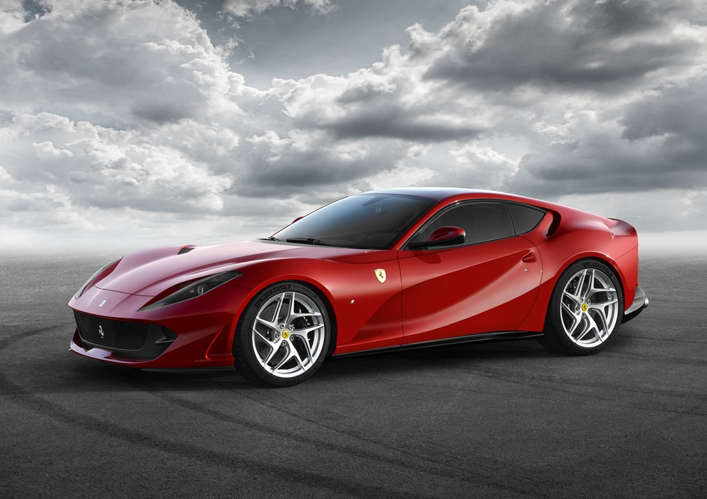 the ferrari 812 superfast  geneva world premiere for the
