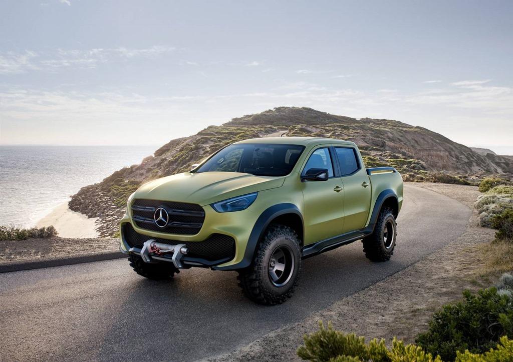 Mercedes benz concept x class hits australian soil for the for Mercedes benz concept