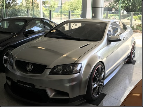 holden- Commodore VE coupe concept