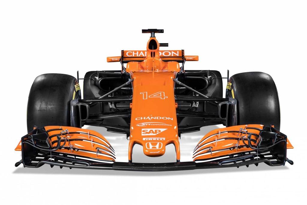 McLaren-Honda unveils the newMCL32