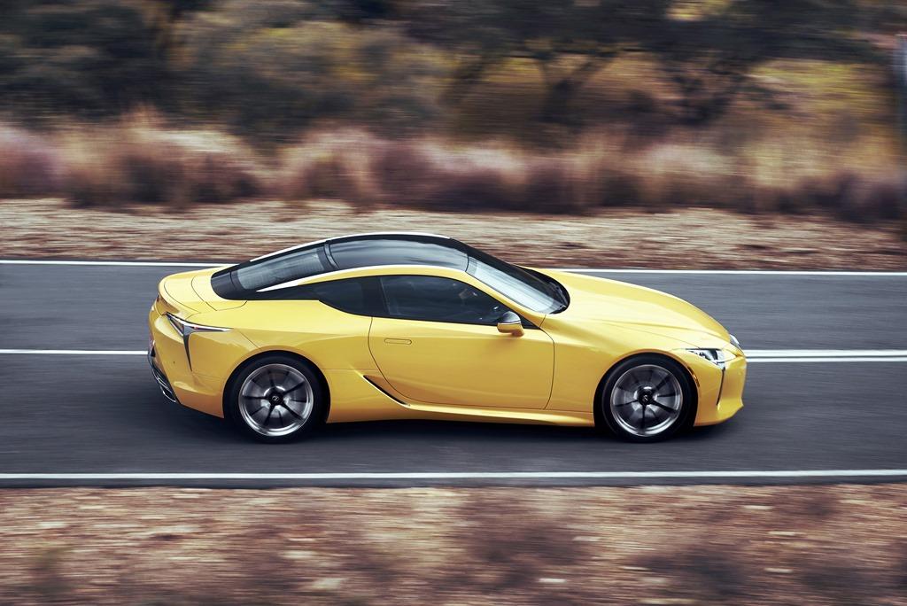 New Lexus LC gets gong of gongs inGeneva