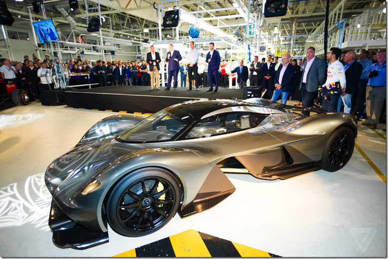 AM-RB 001 hypercar officially named Aston Martin Valkyrie