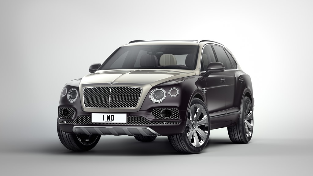 BENTLEY'S BENTAYGA MULLINER: An Even posher SUV