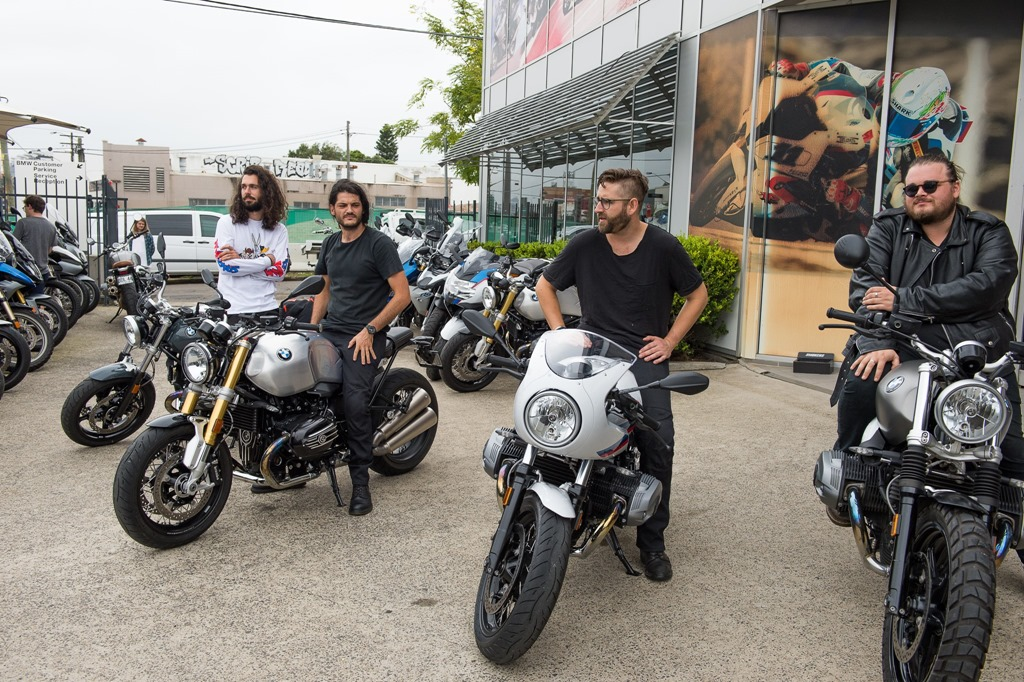 BMW Motorrad teams up with Aussie rockers Kingswood.