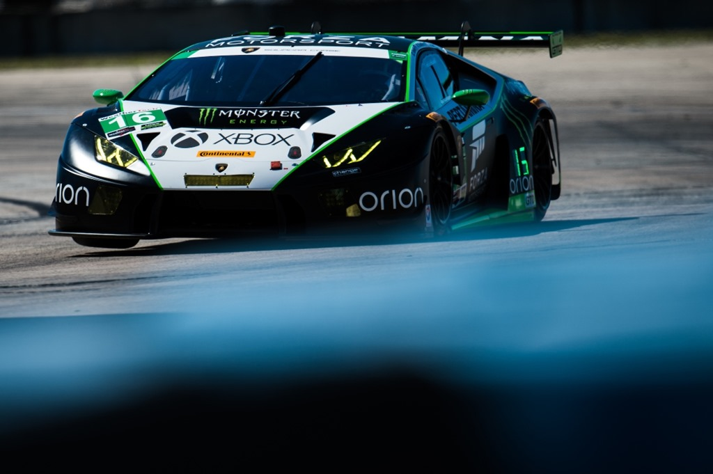 Lambo ready for Seabring 12 hour with 6 HURACÁN GT3S
