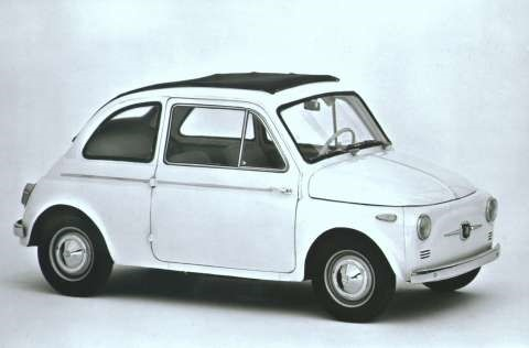 Forever Young: Iconic Fiat 500 Celebrates 60th Birthday