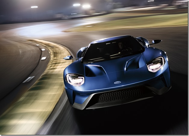 New Ford GT: fast andfurious