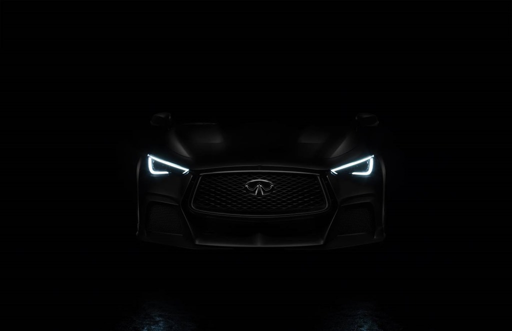 INFINITI's mysterious Project Black S