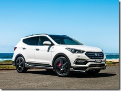 Hyundai Santa fe SR is impressive in town and out.
