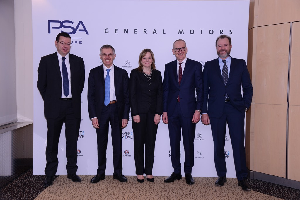 GM sells Opel and Vauxhall to PSA PeugeotCitroen